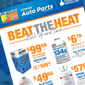 Beat The Heat - Stock Up and Save On Freon