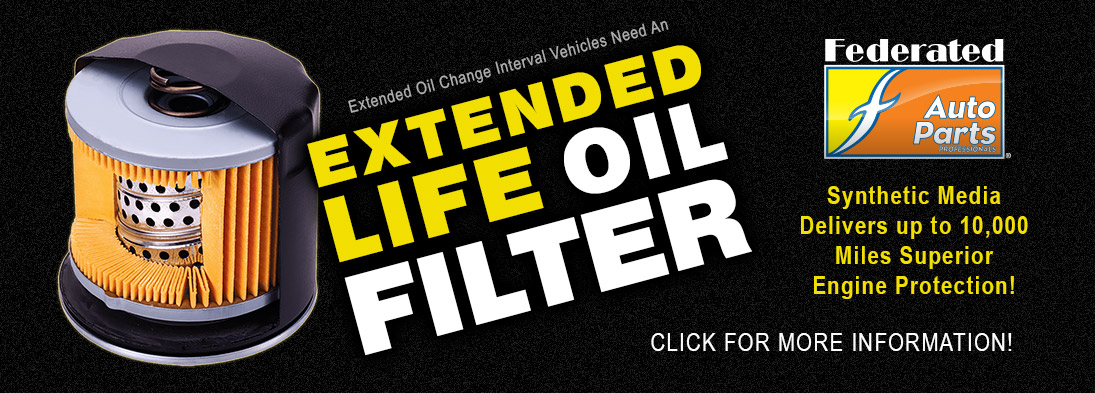 Federated Extended life Oil Filters