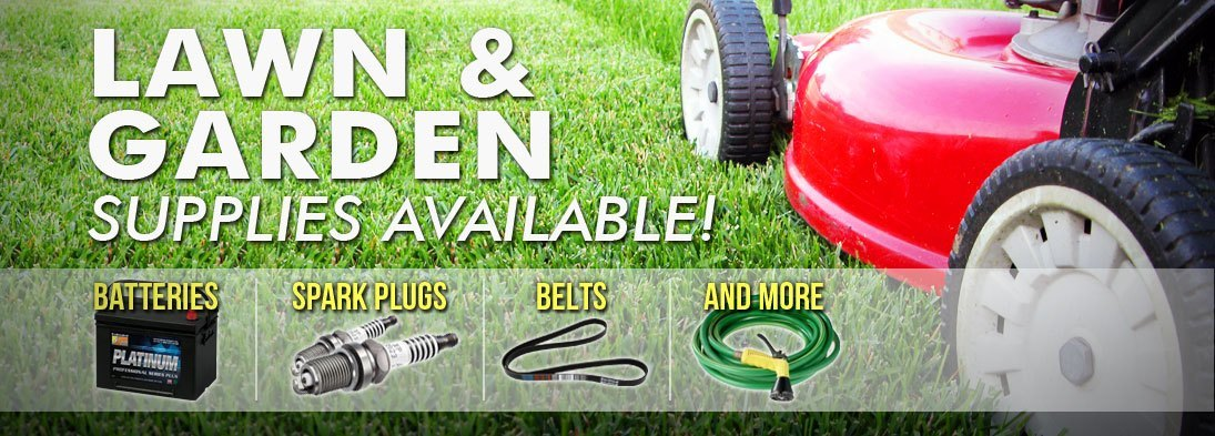 Lawn and Garden Supplies Available