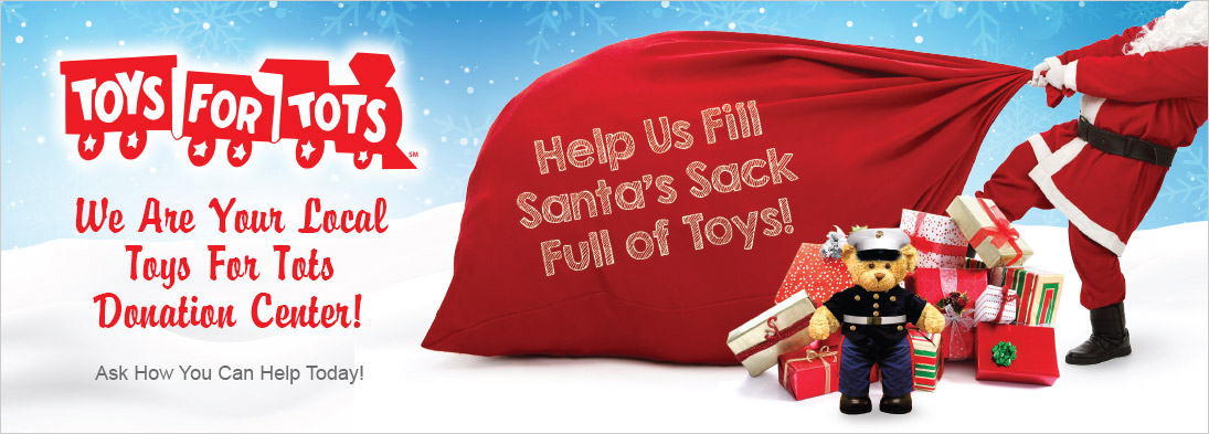 Toys For Tots Fundraising Campaign Fisher Auto Parts