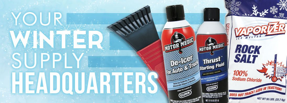 Winter products available!