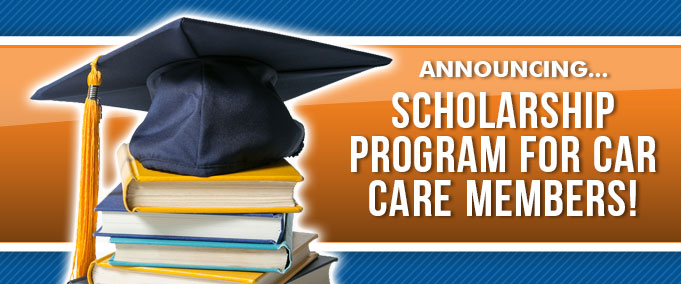 Scholarship Prgram for Car Care Members